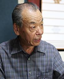 写真:3代目 印章彫刻士 小林勝三