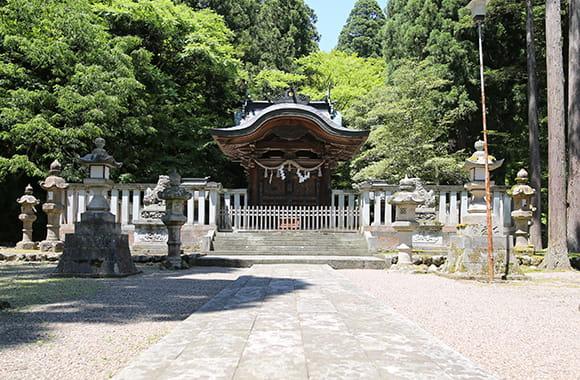 写真:岡太神社の本殿