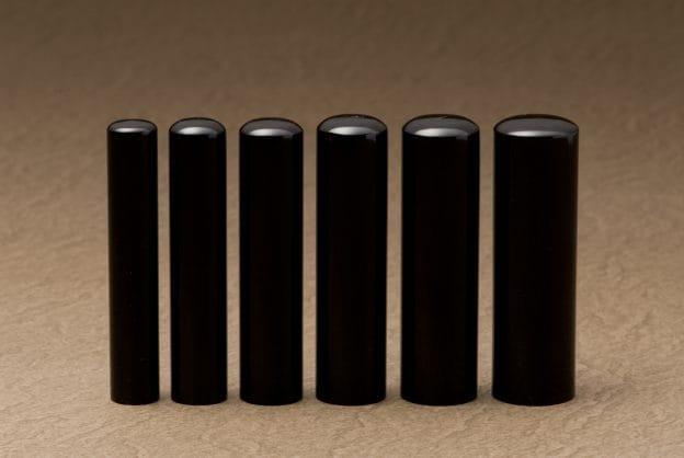 写真:6種類のサイズ比較