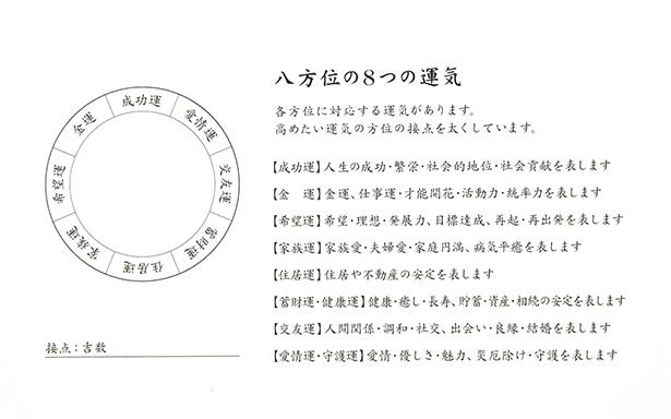 印鑑鑑定書(裏面)